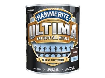 Ultima Metal Paint Smooth Brown 750ml
